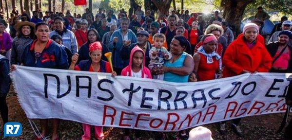 MST ocupa fazenda de Eike Batista em Minas Gerais  https://t.co/SwUZNIkUpT
