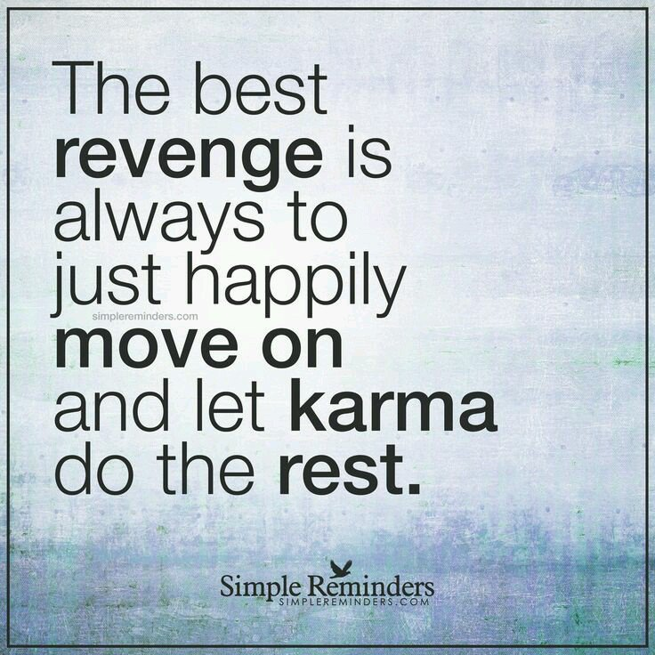 """Karma And Revenge Quotes: Motivational Quotes On Twitter: """"The Best Revenge Is"""