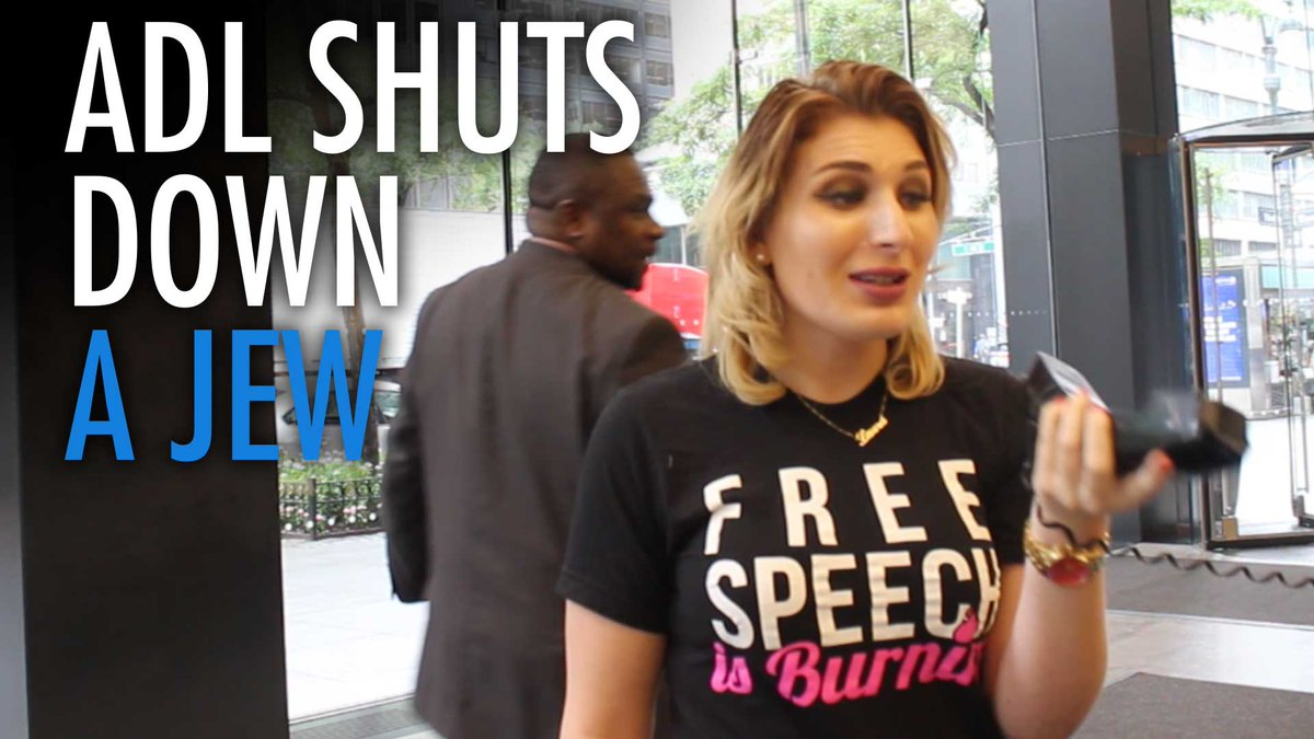 """.@LauraLoomer vs. the @ADL_National: """"Hitler made lists of undesirables, too""""  https://www. therebel.media/laura_loomer_v s_the_adl_hitler_made_lists_of_undesirables_too &nbsp; …  