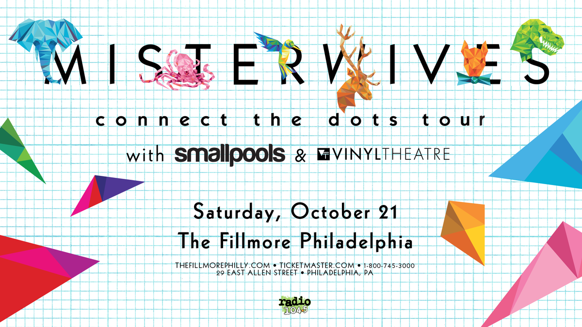 Misterwives Connect The Dots Tour October