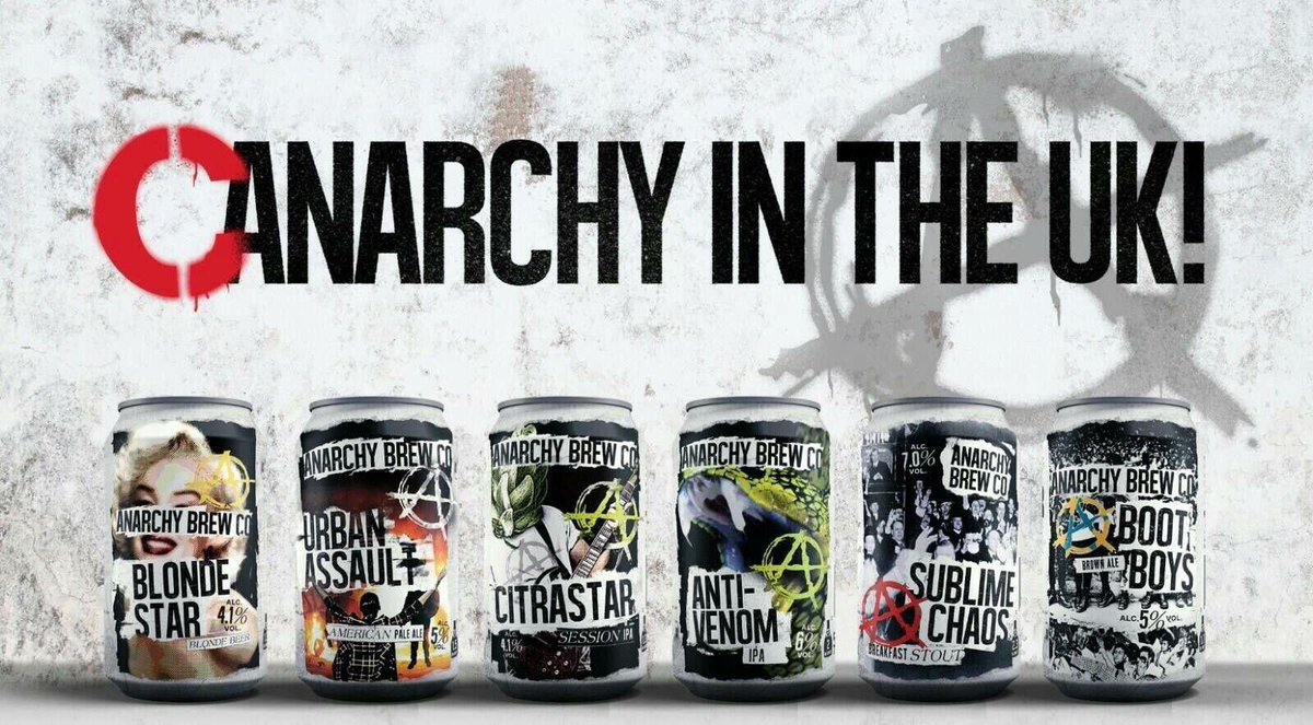 Our cans have gone down a storm since launching in April, have you tried the full range yet?  #anarchy #can  #craft #beer<br>http://pic.twitter.com/kmq17R6FbS