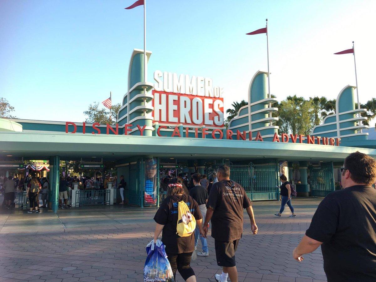 Summer of Heroes at @Disney California Adventure Park  #SummerOfHeroes #Disneyland #travel #D23Expo #Marvel  https:// goo.gl/3AsgDp  &nbsp;  <br>http://pic.twitter.com/5CdBFvQAAV
