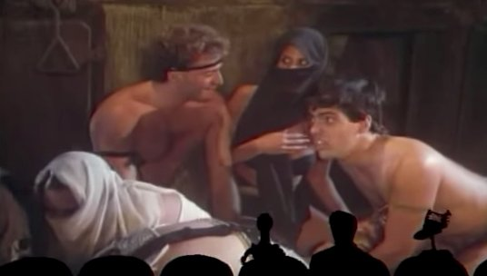 &quot;This looks like the locker room for American Gladiators.&quot; &quot;Smells like it.&quot;  #Turbo #Nitro #Zeppo #NoNo    MST3K Ep. #110 Robot Holocaust <br>http://pic.twitter.com/Cywzhp2dA1
