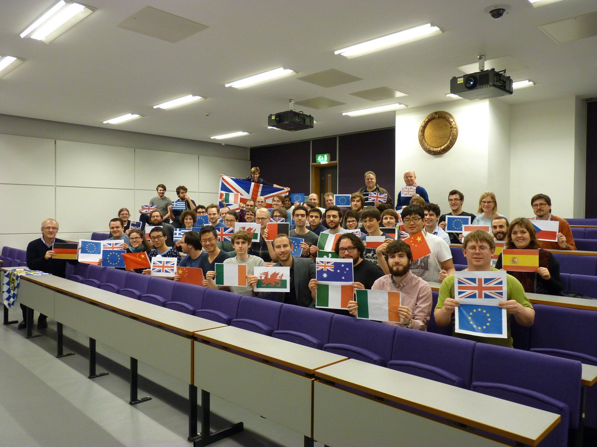 Particle physics research is only possible because #ScienceIsGlobal @royalsociety<br>http://pic.twitter.com/AjF4BhIe1y