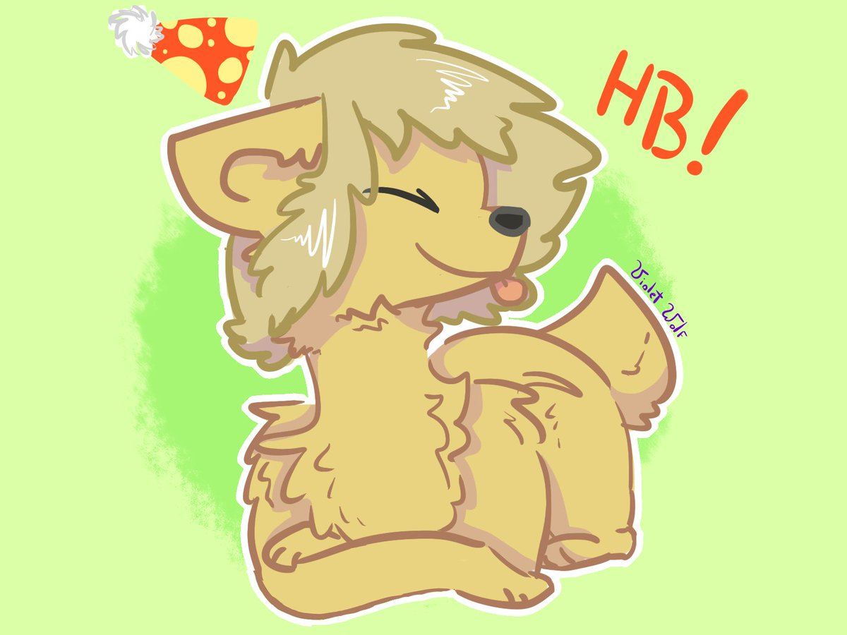 HAPPY BIRTHDAY TO THE GOLDEN BEAR!! >w<♡♡ #FNAFHS #GoldenFNAFHS #FNAFHSfurry
