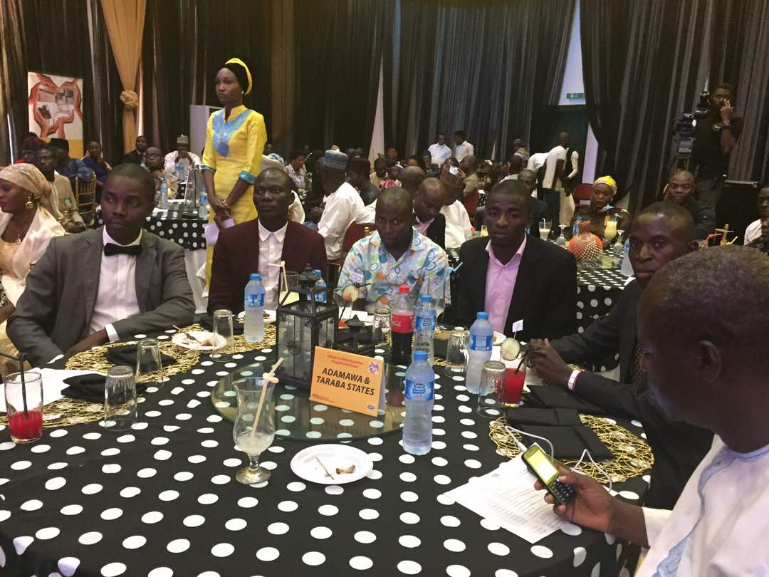 Successful nominators from Adamawa and Taraba states #live at the #whatcanwedotogether #nominatorsparty in Abuja. #togetherforgood <br>http://pic.twitter.com/cqWJf4Bonl