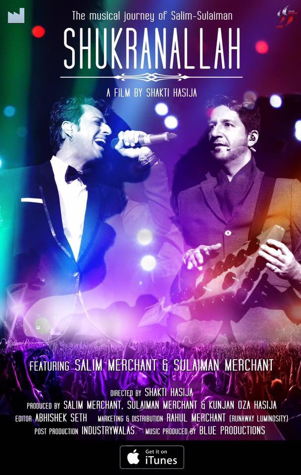Salim Merchant On Twitter Its Been A Year Since Our Film