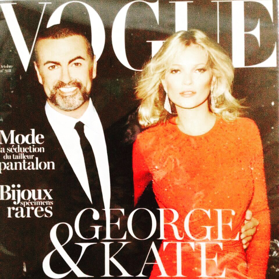 That @VogueParis with #GeorgeMichael and @KateMossOk could be yours. Best bit? It&#39;s all for #charity at  http:// Facebook.com/Lovelies.help  &nbsp;   <br>http://pic.twitter.com/NR7zJvAbXO