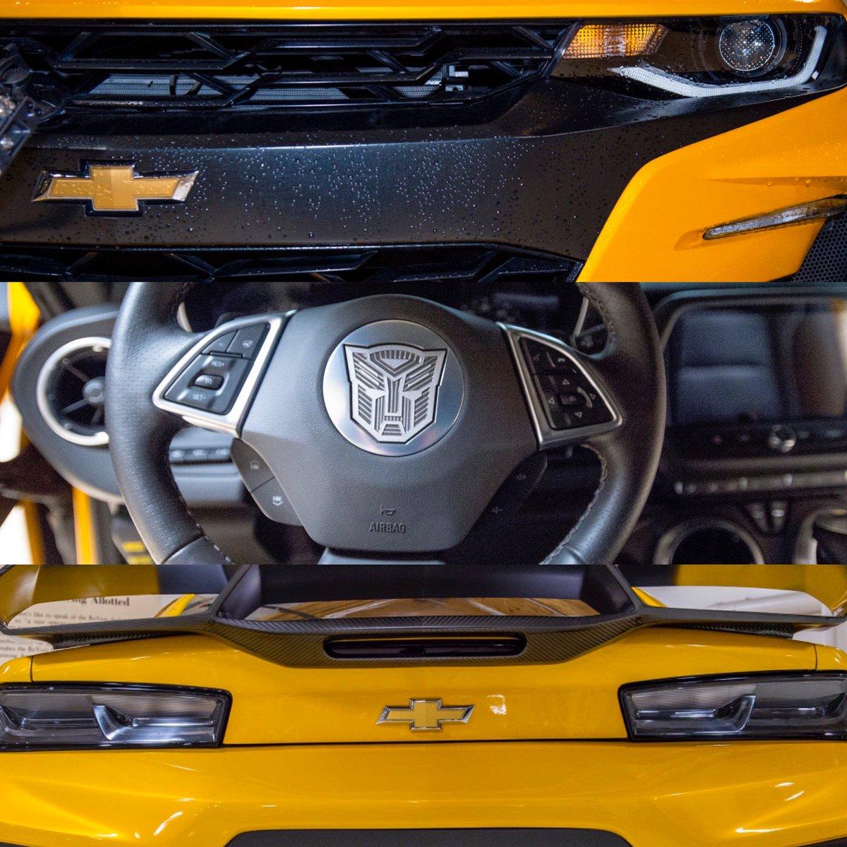 TLK Bumblebee Camaro To Be Featured On Jay Leno's Garage