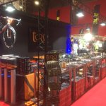 All set up and ready for tomorrow's sign-on expo for @RideLondon #PrudentialRideLondon #ReasonToRide