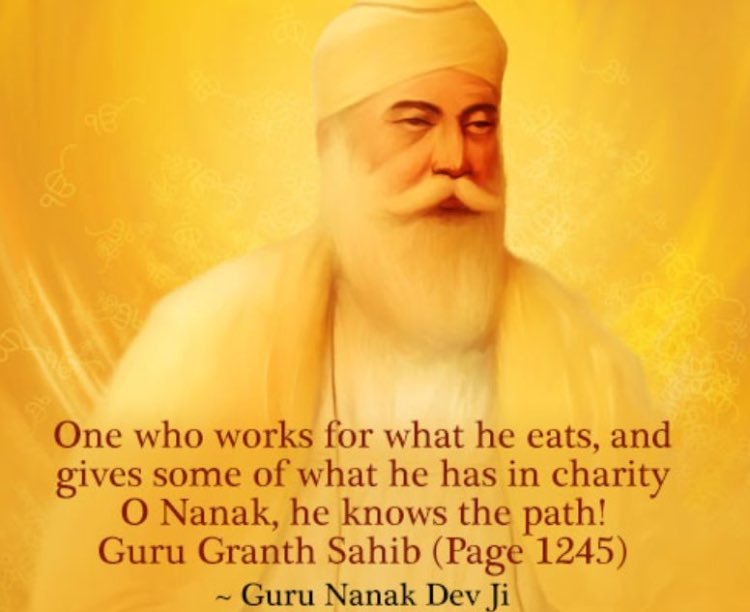 Charity is one of the most important principles of Sikhi!Daswandh is the principle of donating 10% of one&#39;s earnings!! #charity <br>http://pic.twitter.com/X5gnMyvP9L