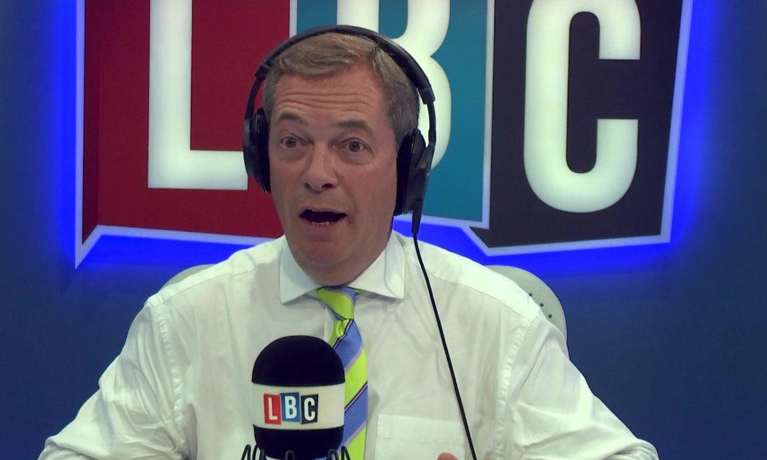 Strong views on tonight's @Nigel_Farage Show. Don't miss a minute: https://t.co/F7UZBJV6XB #FarageOnLBC