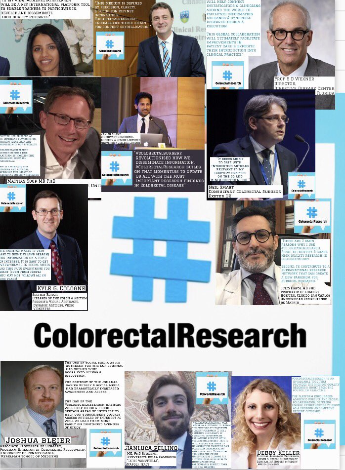Many thanks to the international  #colorectalsurgery twitterazzi for their support of #colorectalresearch &amp;their views-let us know your view<br>http://pic.twitter.com/23k5aEoTlM