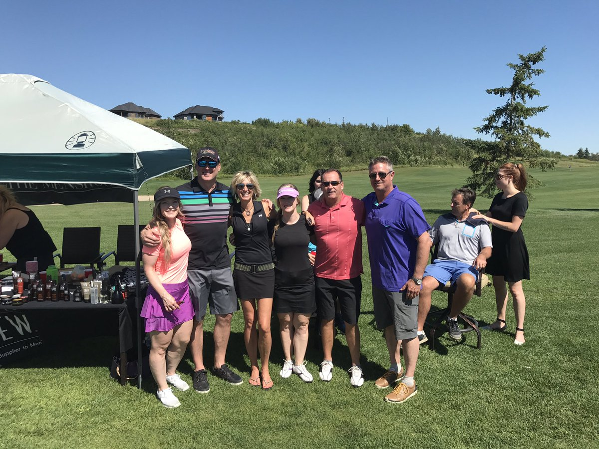 Great day @SpecGolfClassic 2017 #charity #golf @QuarryEdmonton.Thank you to @themensroomyeg for the #necktrims and #snacks #SpecGolf17 #yeg<br>http://pic.twitter.com/B9d42VljFG