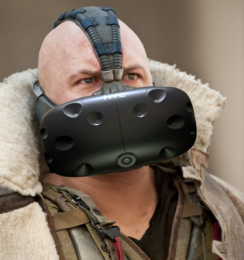 Who's brave enough to tell Bane he's doing it wrong?