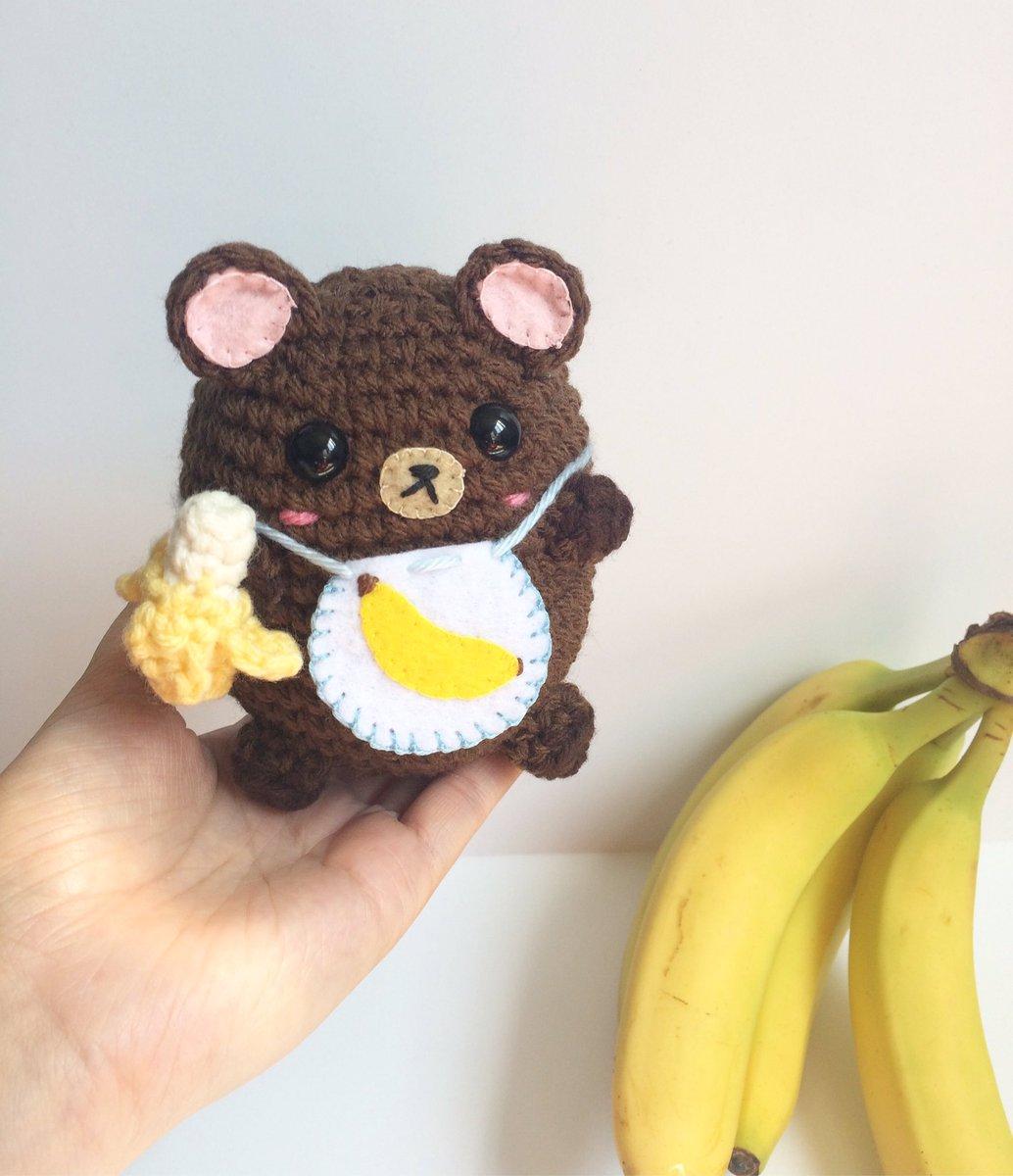 Hey #HandmadeHour I hope you enjoy my latest commission piece: Banana Baby Bear!   http:// marchoftheblacksheep.etsy.com  &nbsp;   #CraftHour #crochet #Etsy #cute<br>http://pic.twitter.com/vwvAJF4ef6