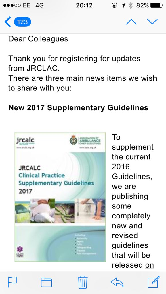 jrcalc clinical practice supplementary guidelines 2017