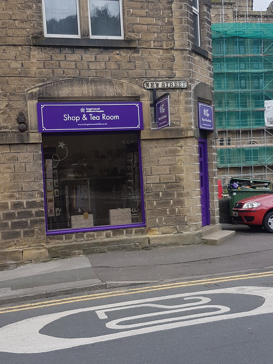 Excited to see @ForgetMNotChild @forgetmenotbiz shop &amp; tea room taking shape. When is your official opening day? #slaithwaitehour #charity <br>http://pic.twitter.com/HitOsecapF