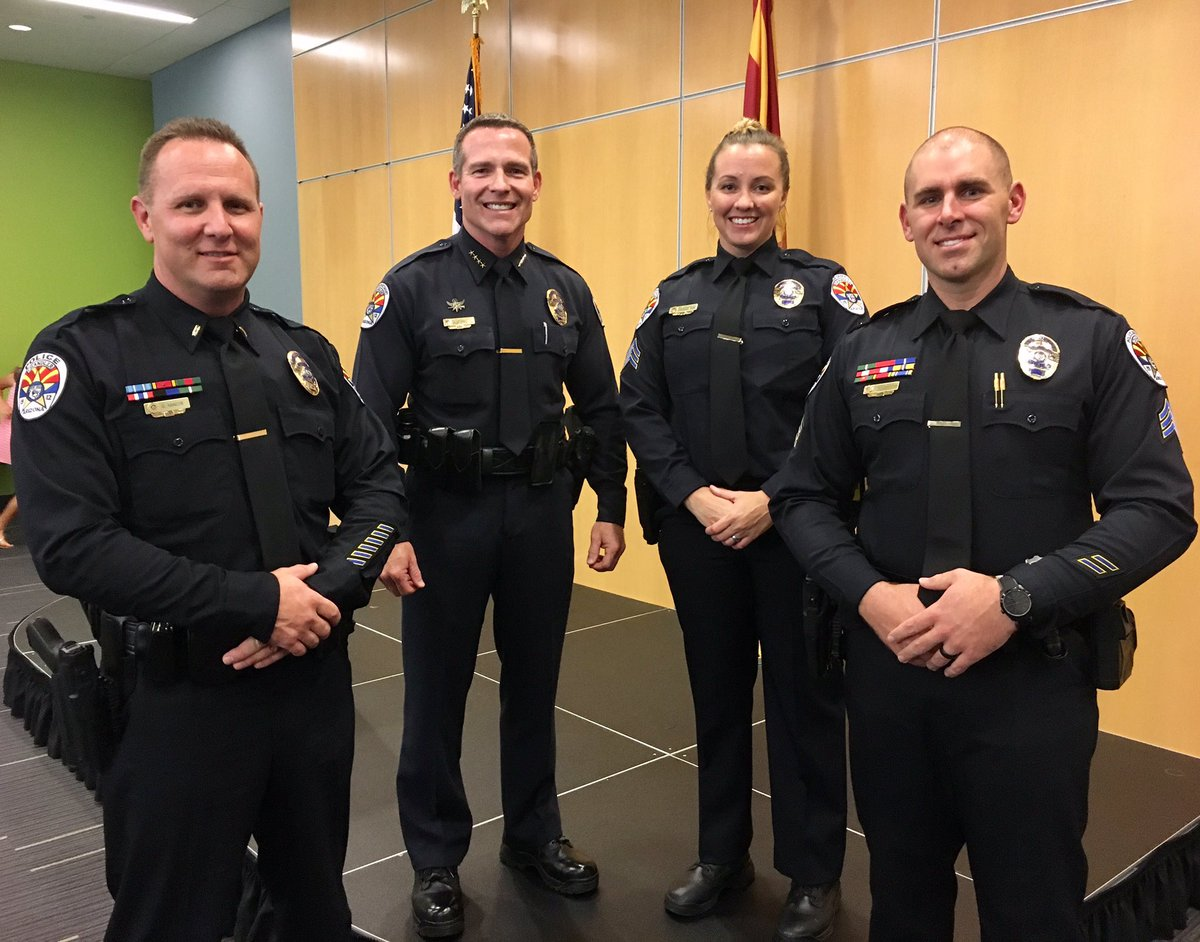 Congratulations to our newly promoted sergeants and lieutenant.  #Leadership @chandlerpolice. #TeamChandler @cityofchandler<br>http://pic.twitter.com/0ZaHOFoK4p