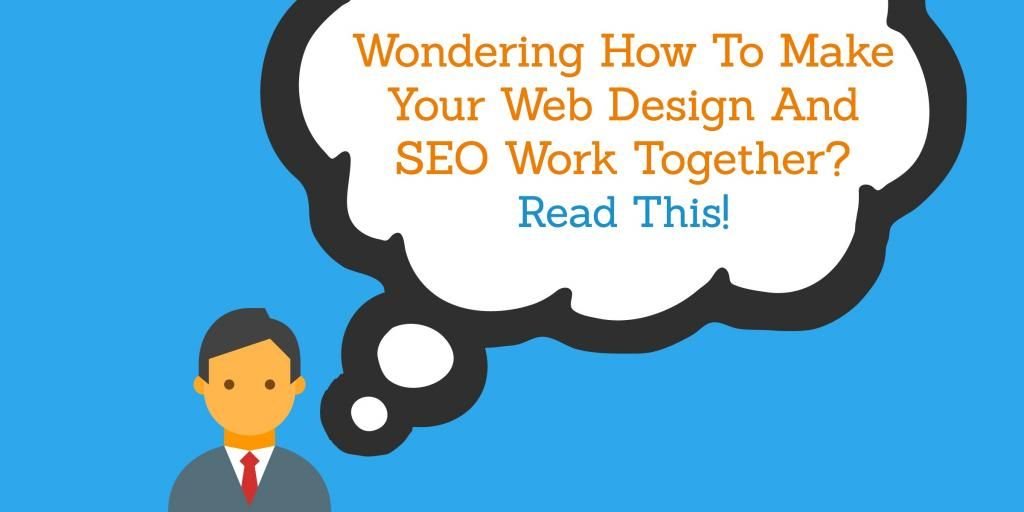 How To Make Your #WebDesign and #SEO Work Together via @justincherring  http:// bit.ly/2u0CLft  &nbsp;   <br>http://pic.twitter.com/DjcuNtxb6A