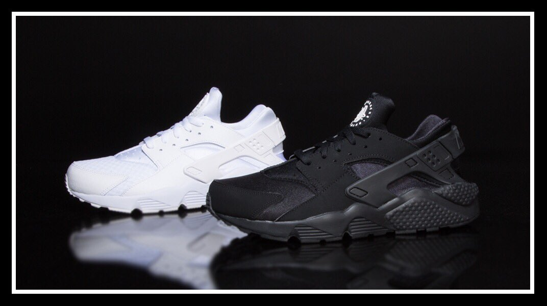 3c40d927532d Champs Sports On Twitter The Nike Huarache In Triple Black And