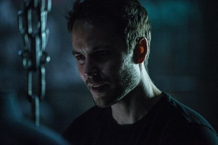 Taylor Kitsch as Ghost in the 2017 movie adaptation of