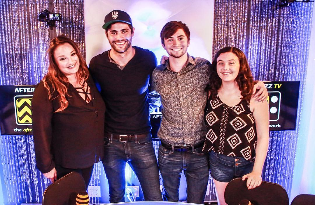 #IG | &quot;@MatthewDaddario teased who might die on #Shadowhunters, talked #Malec, and MORE.&quot; (via @afterbuzztv)<br>http://pic.twitter.com/H8HWlGdGwF