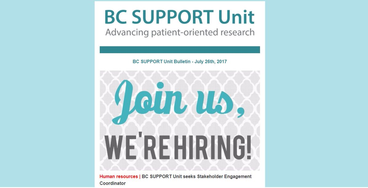 Hot off the press! Read about BC #patientorientedresearch, #PatientEngagement &amp; #KT in our latest newsletter!  http:// ow.ly/Moer30dWfEB  &nbsp;   #BCHC<br>http://pic.twitter.com/ul4aFENoYk