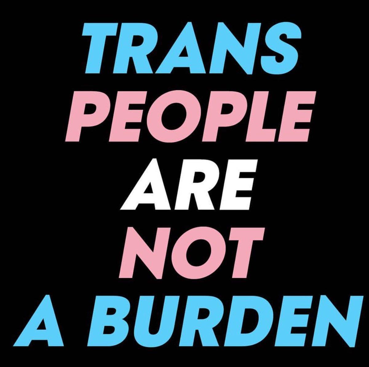Repost repost REPOST!! #TransRightsAreHumanRights