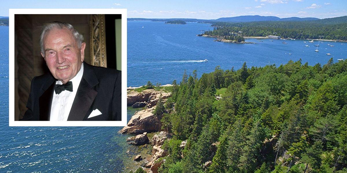 David Rockefeller's Sprawling Maine Estate Is on the Market twnctry.co/ylQKbzv
