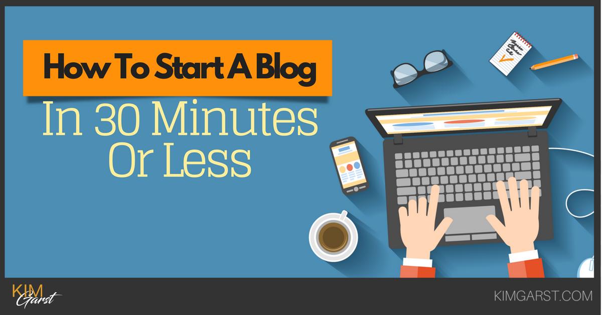 How To Start A Blog In 30 Minutes Or Less  https://www. mhb.io/e/3a63l/6x  &nbsp;   #Blogging #Marketing via @kimgarst<br>http://pic.twitter.com/sPuTKo2f8C