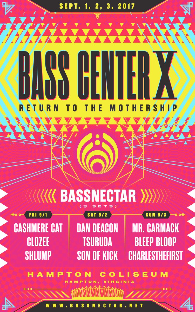Bassnectar makes his 'Return to the Mothership' this weekend with BassCenter XDFsOTjoVoAA9zZt