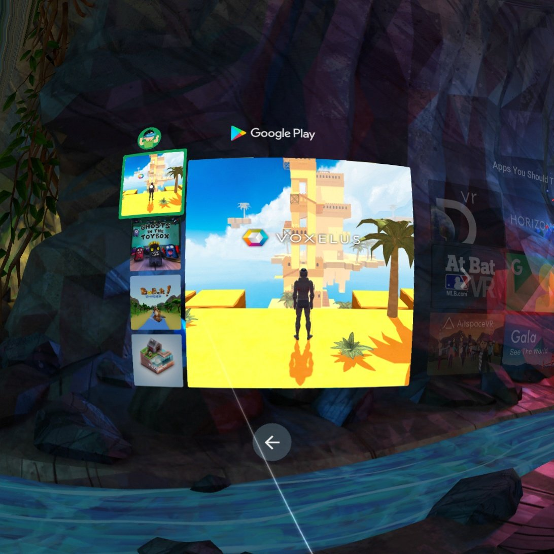 @VariusTW @HarveyEins @Voxelus That screenshot is from the Daydream app, and this is on Play Store: