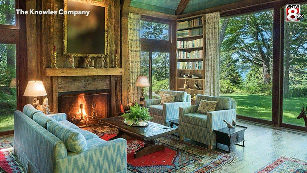 David Rockefeller's $19 million Maine estate for sale bit.ly/2v93rMP