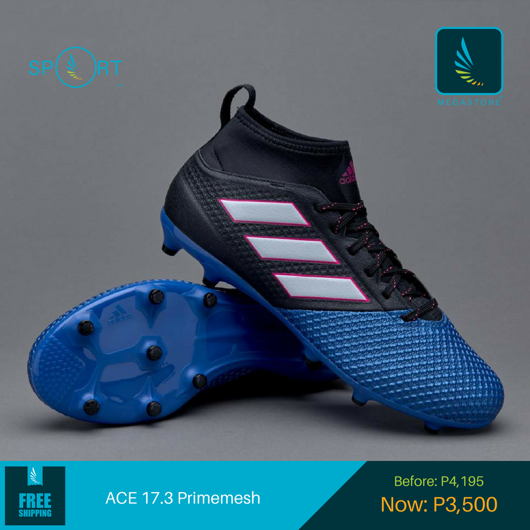 Get a pair of @adidas #ACE 17.3 FG for only ₱3,500!  Shop now:  https:// goo.gl/tPwLTU  &nbsp;    #Football #Soccer #OnlineShopping #Philippines #PH<br>http://pic.twitter.com/4GTRJzCGYM