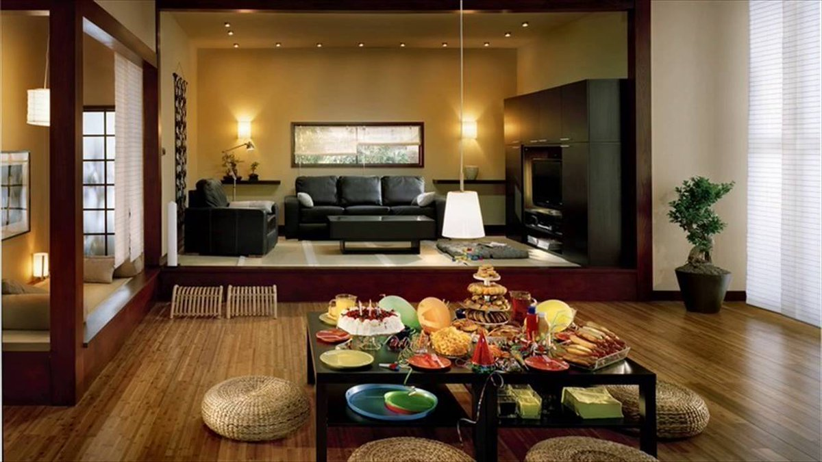Japanese Interior Design Living Room -  VIDEO -&gt;  http:// wp.me/p8YVRv-2zT  &nbsp;   #InteriorDesign <br>http://pic.twitter.com/5vxqBVJjla
