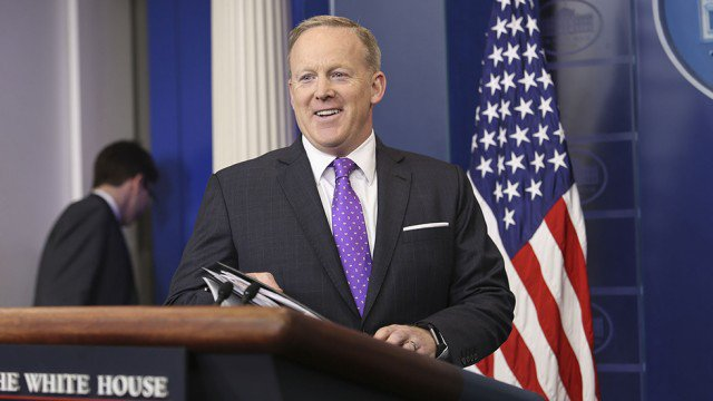 """""""Dancing with the Stars� looking to cast Sean Spicer: report hill.cm/T3lxHC7 #DWTS #SeanSpicer"""
