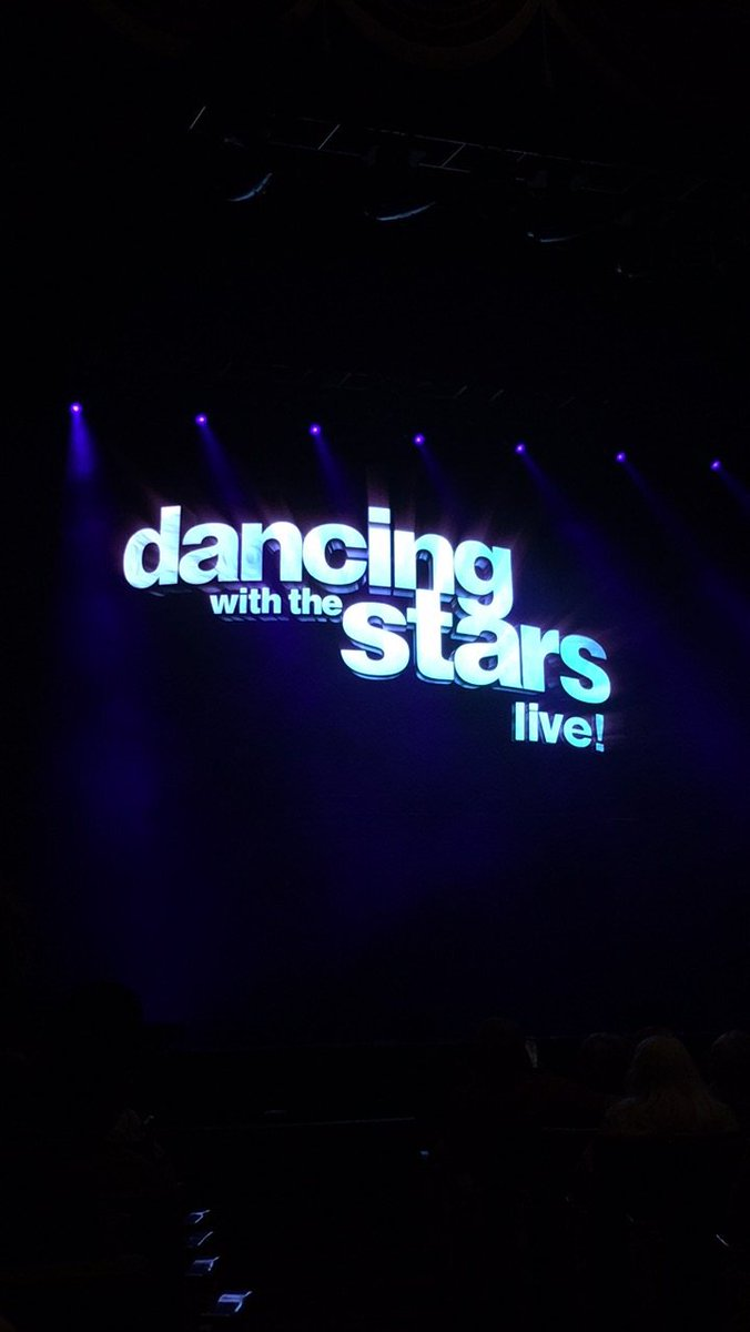 HERE WE GO GUYS! I'm so excited! #dwts #dwtstour