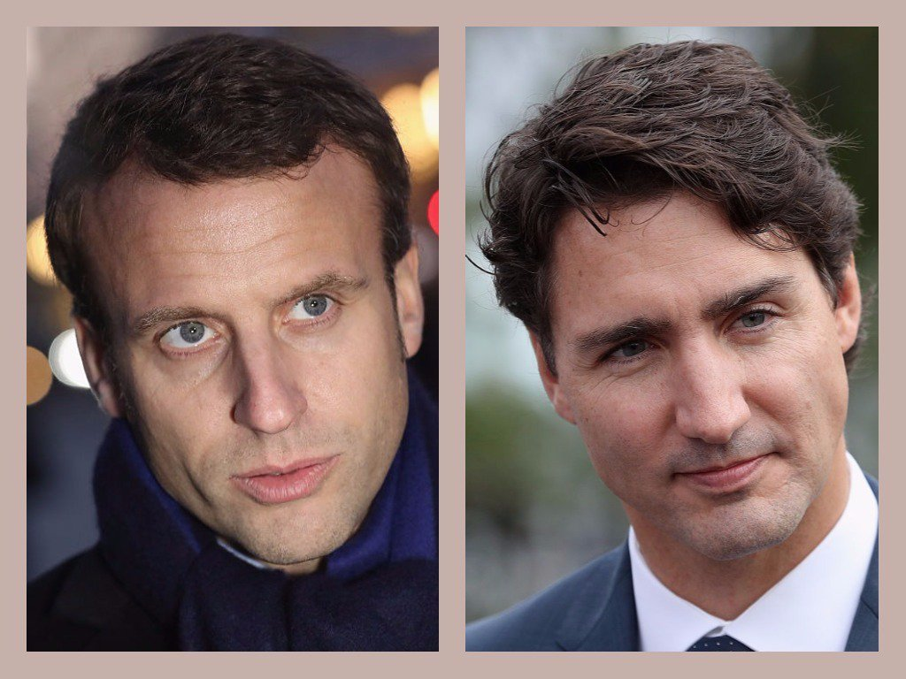 Your crushes on Justin Trudeau and Emmanuel Macron are dumb https://t.co/V9m7O7QNcL https://t.co/Gduq4X2Leb
