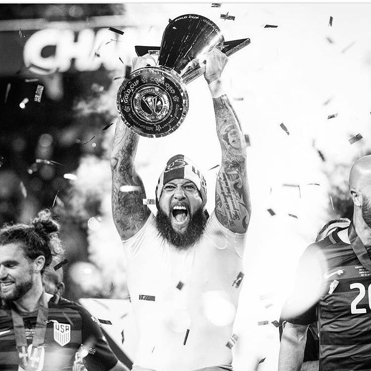 I'll let you know when winning gets old, until then... #AndNew 🇺🇸 @ussoccer #GoldCup2017 #CHAMPIONS
