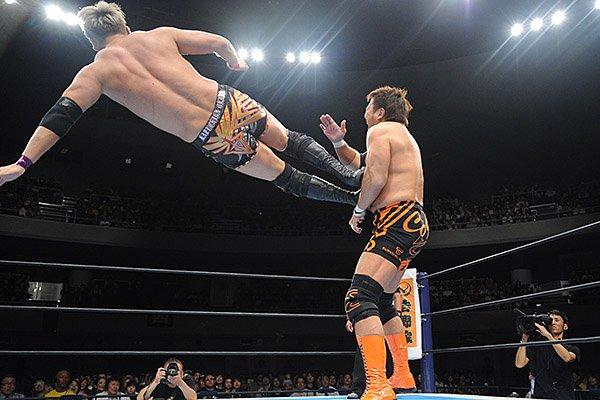 """NJPW: Resultados """"G1 Climax 27 Día 8"""" 27/07/2017 Kenny Omega cae ante Michael Elgin 6"""
