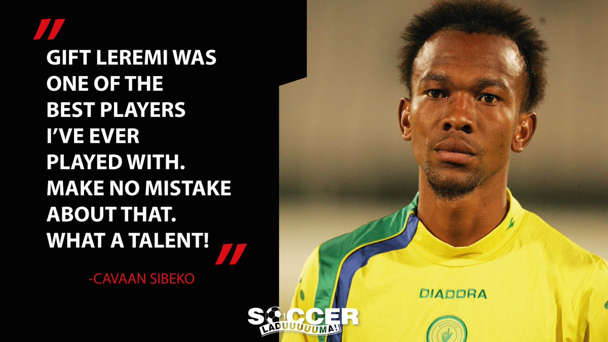 Soccer laduma on twitter what are your favourite memories of the soccer laduma on twitter what are your favourite memories of the late gift leremi heres what cavaan sibeko had to say negle Choice Image