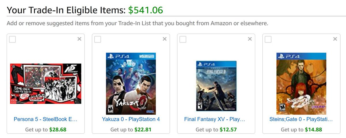 I was wondering when Amazon would move into the 'please give us used games and buy used games' business