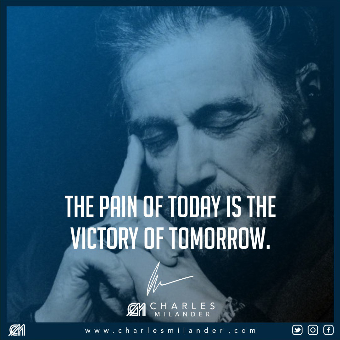 The pain of today is the victory of tomorrow. #hardwork #working #startup #money #successful #passion #motivation #entrepreneur #business <br>http://pic.twitter.com/8ur4ct2bv0