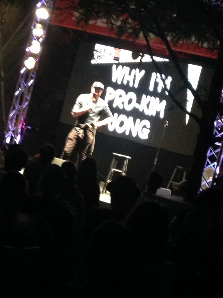 #Montreal @justforlaughs  @SETLISTSHOW  &quot;You know, Canada... there is such a thing as TOO liberal.&quot; - @mattokine<br>http://pic.twitter.com/oYF6S8K3y8