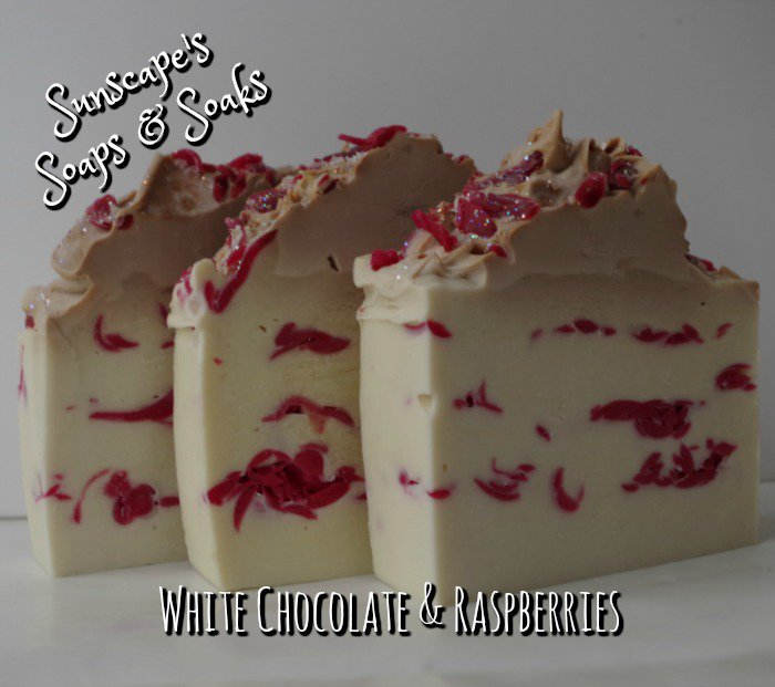#Chocolate &amp; Raspberry Cake ... a handmade soap at Sunscape&#39;s Soaps &amp; Soaks on #Etsy . #artisan #soaps  http:// tinyurl.com/gmuhggz  &nbsp;  <br>http://pic.twitter.com/tR8kXAbsWn