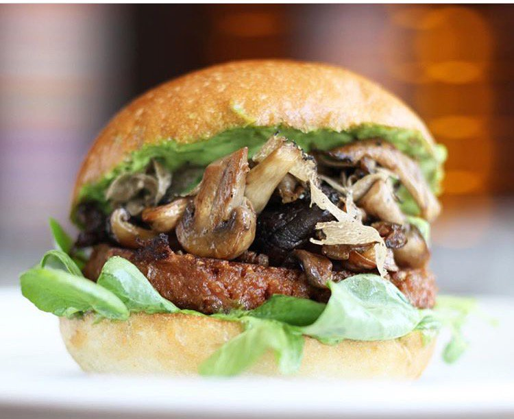 Our wild mushroom #vegan burger is unbelievable. #MustHave<br>http://pic.twitter.com/o7a1hh4Gxu