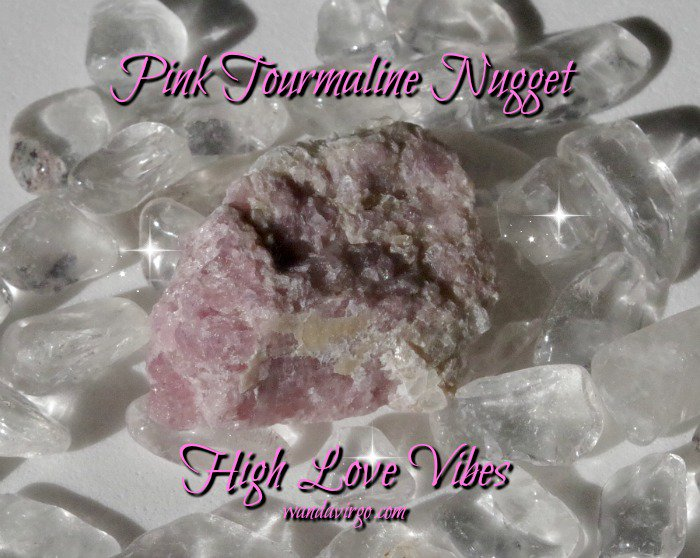 #Pink Tourmaline Crystal Nugget for Love Connections at Crystal Vibrations on #Etsy #crystals  http:// tinyurl.com/z7r3obr  &nbsp;   <br>http://pic.twitter.com/Dykw0YKbJY