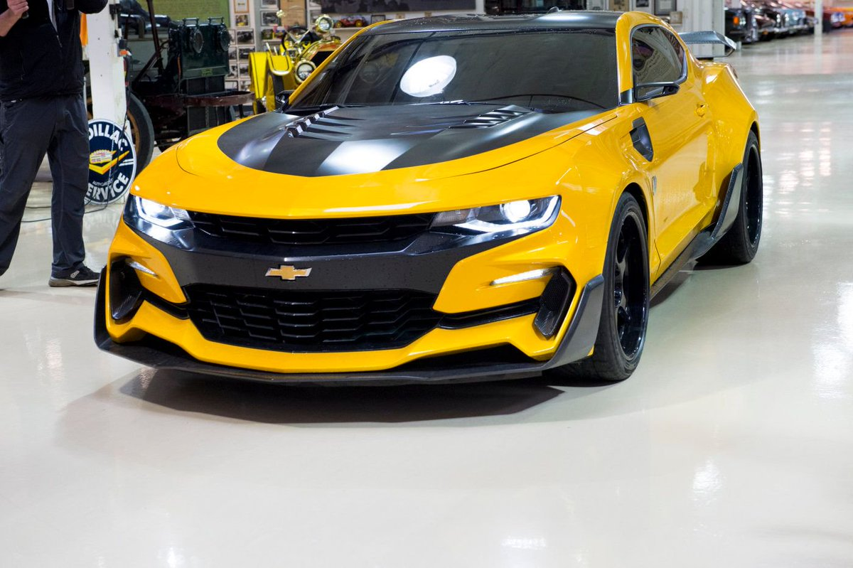 jay leno 39 s garage on twitter surprise 2016 bumblebee transformers chevrolet camaro. Black Bedroom Furniture Sets. Home Design Ideas