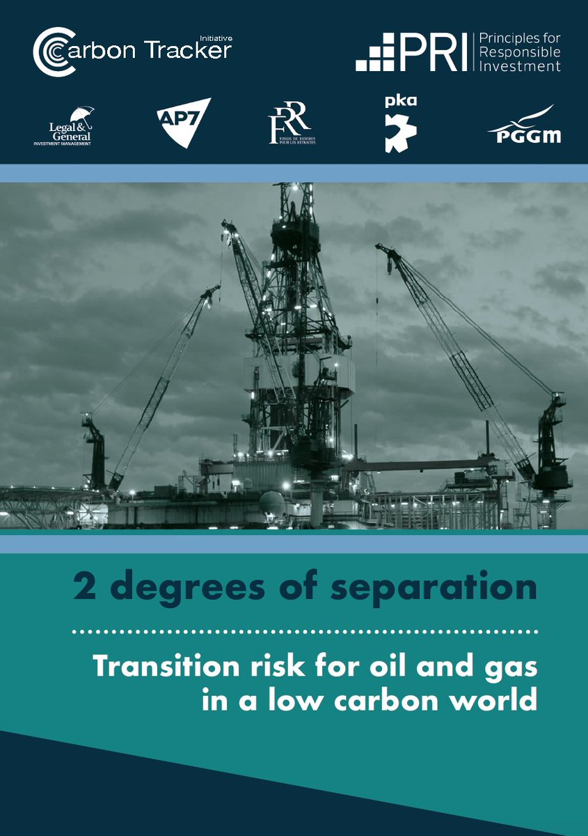 2 degrees of separation – @CarbonBubble assess transition #risk for oil + gas in a low carbon world #sustainability  http:// buff.ly/2uyNMox  &nbsp;  <br>http://pic.twitter.com/GwZz9XgINO